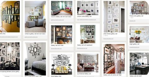 Gallery Wall Decorating Tips + Photo Gallery Decorating