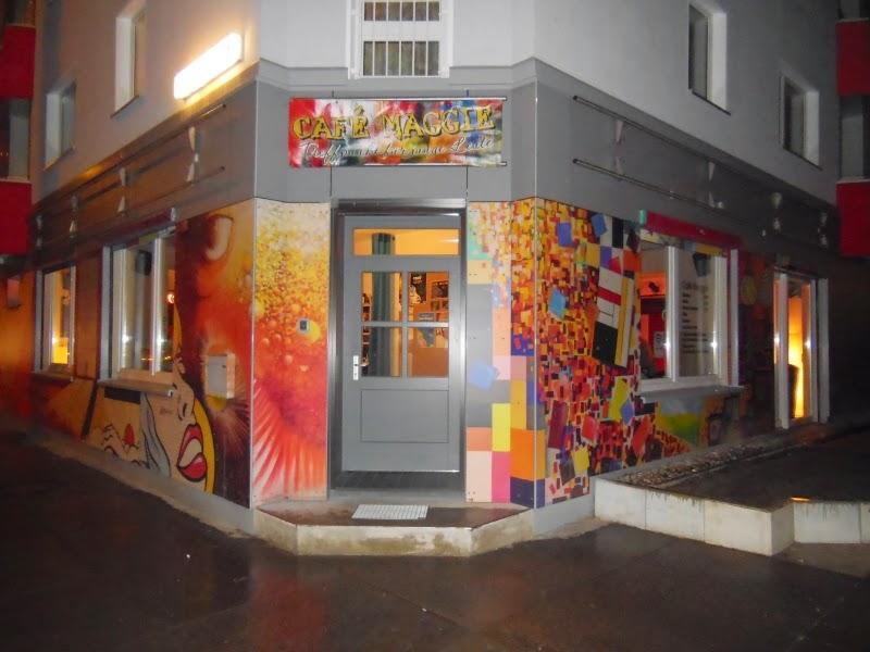 Café Maggie in der Frankfurter Allee 205 in Berlin