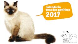 Calendário Toca dos Gatinhos 2017