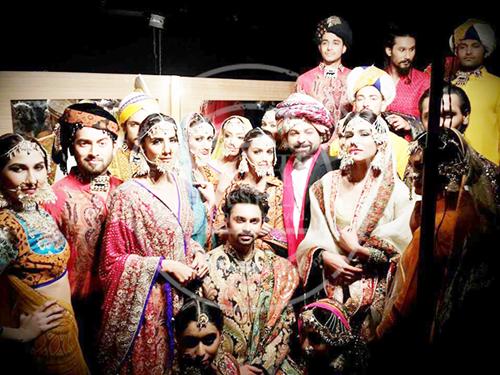 Ali Xeeshan Bridal Collection 2014