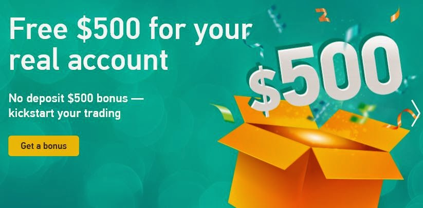 Forex deposit bonus 500