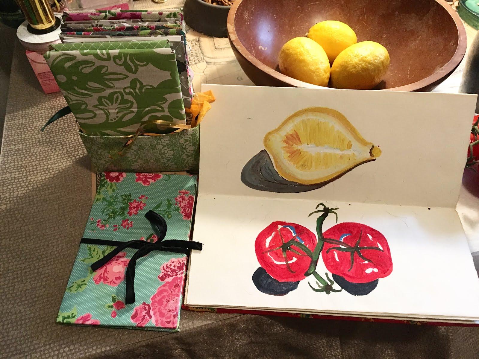 Summer Project-Handmade Books