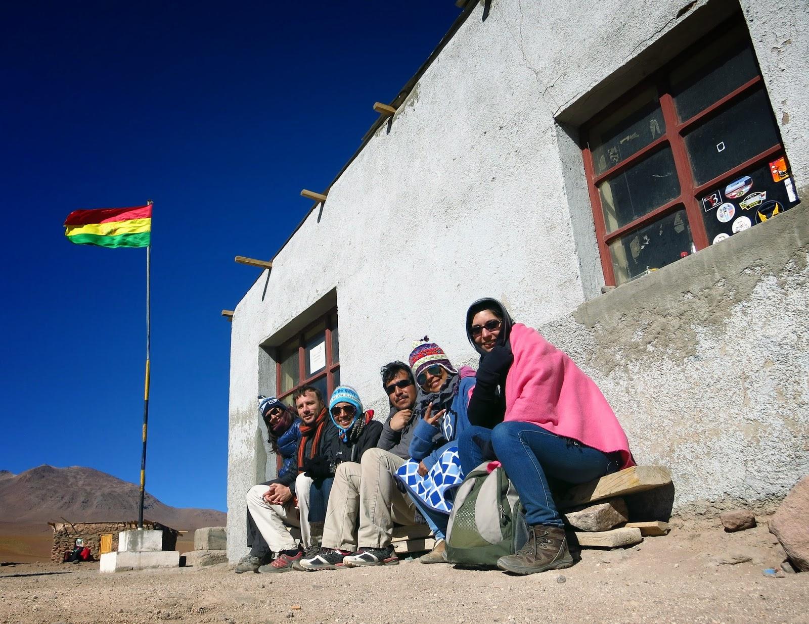 En la frontera boliviano-chilena.