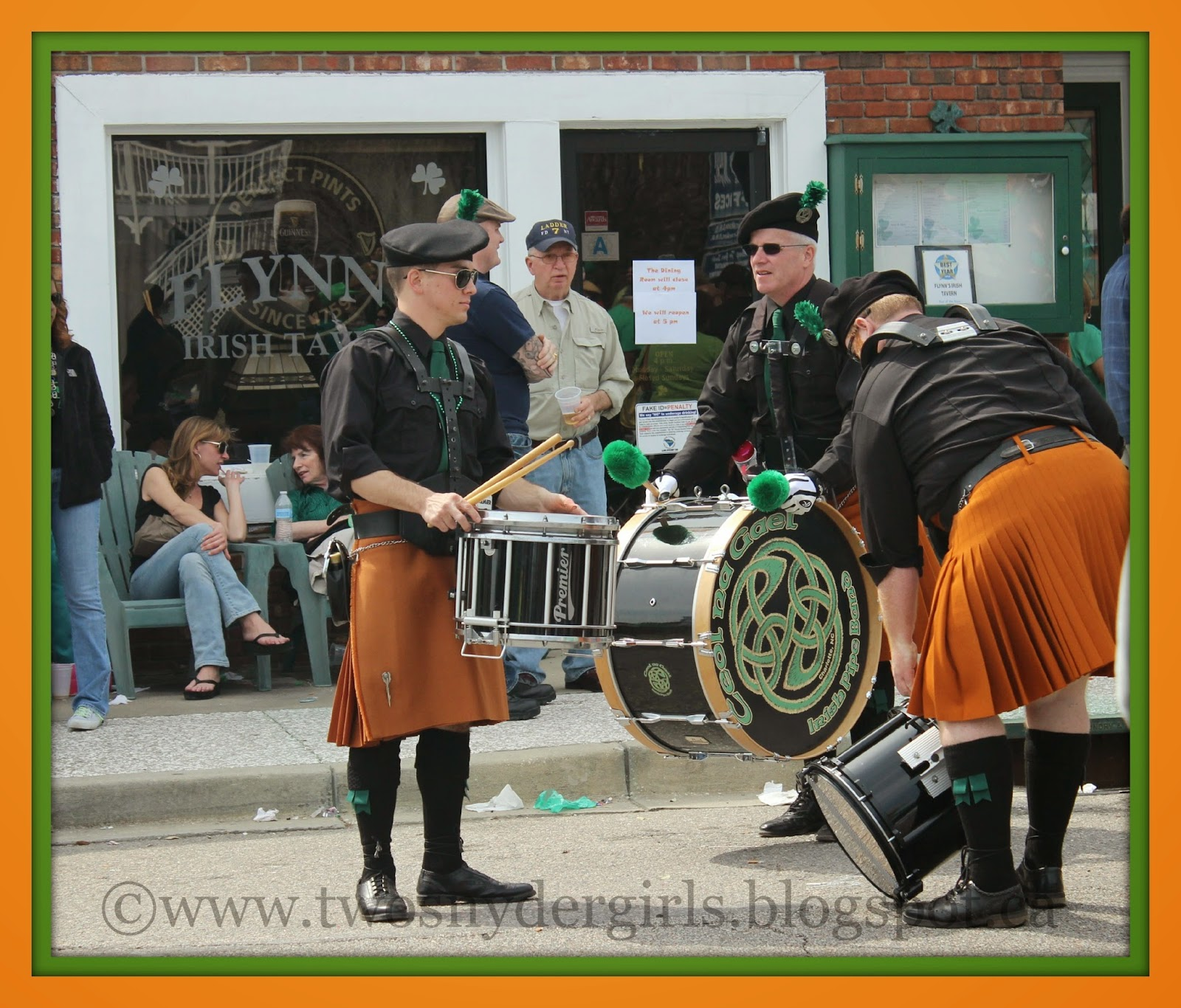 St. Patrick's Day Drum Band
