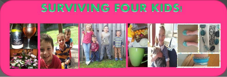 Surviving four kids!