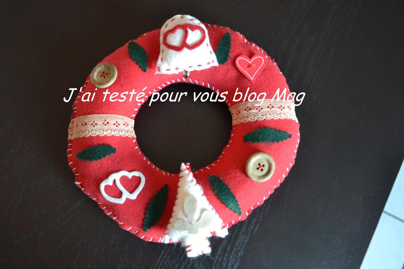 #BC0F1E J'ai Testé Pour Vous Et Made BY Mag Bijoux Fantaisies  7306 Deco Noel A Faire Soi Meme En Tissu 1600x1067 px @ aertt.com