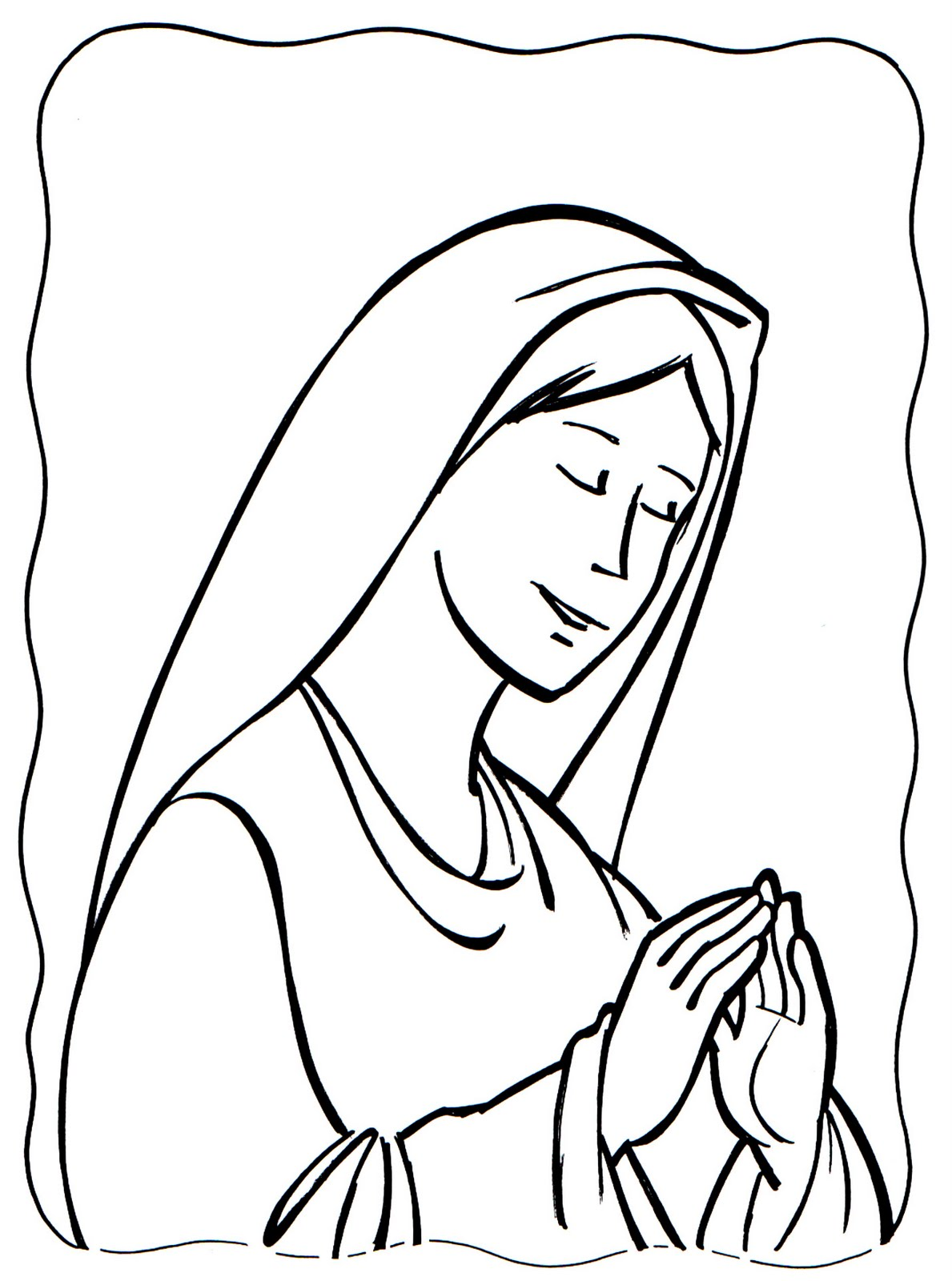 Dibujos para colorear - Predicación de Jesús - Páginas