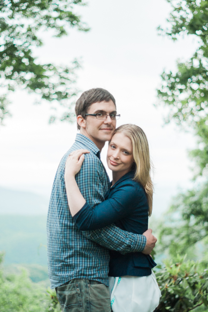 Blue Ridge Mountain Engagement Pictures @ Gideon Ridge Inn in Blowing Rock, NC
