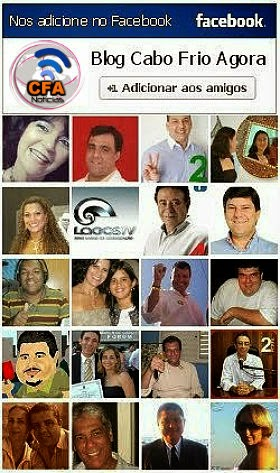 FAÇA COMO MUITOS DE NOSSOS AMIGOS, NOS ADICIONE NO FACEBOOK: