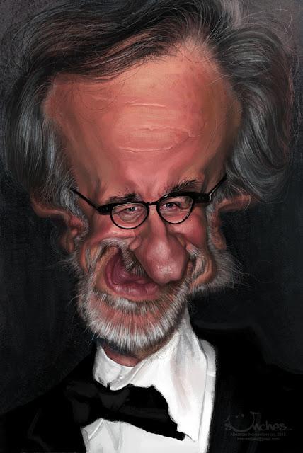 """Steven Spielberg"" por Alexander Novoseltev"