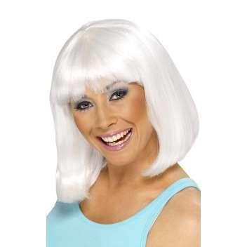Hair styles: Women Medium Hairstyles for White Hair