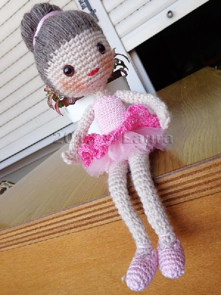 Amigurumi Balerin Fare Yapilisi : Laura fa: Ballerina