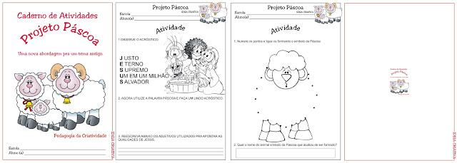Caderno de Atividades Projeto Páscoa