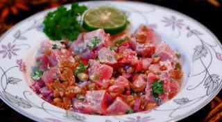 Makanan Khas Indonesia Daerah Maluku - gohu ikan khas maluku