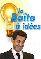 La boîte à idées frelatées de Nicolas Sarkozy