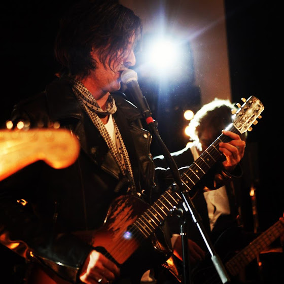 Burberry Art of the Trench party in Chicago featuring Carl Barat