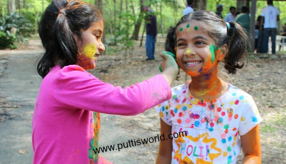 Holi Kids Colors