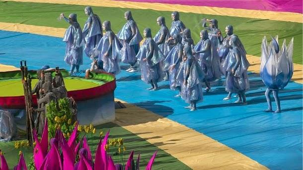 Foto Pembukaan Piala Dunia 2014 Brasil