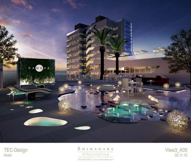 Hotel kameha portals spain concepto proyectos for 4 1 architecture view