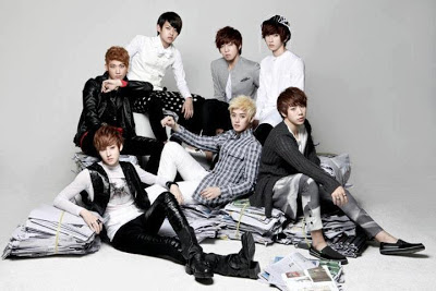 U-KISS ukiss Doradora members two levels