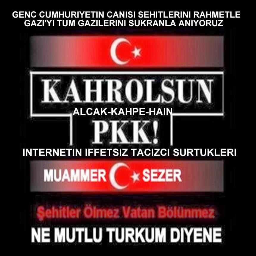 GOOGLE'UN FACEBOOK'UN PKK TERORU ESTIREN KADROLU IBNESI OZKAN BOSTANCI SEREFSIZINI LANETLIYORUZ.