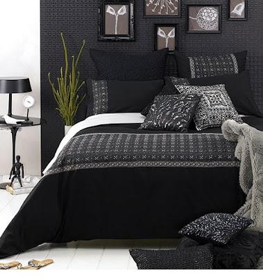 Dise o de dormitorios peque os en colores blanco y negro for Diseno de dormitorio blanco