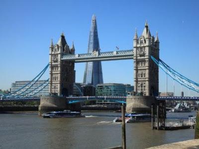 La Torre Shard, el edificio más alto de Europa. El Rascacielo más alto de Europa está en Londres.
