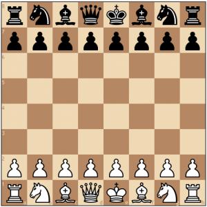 posisi bidak buah catur