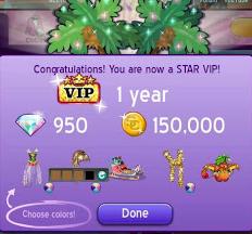 Moviestarplanet.com: 1 year star vip!!