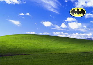 Free Posters Wallpapers of Batman The Dark Knight Logos in Day Bliss Landscape backgrounds