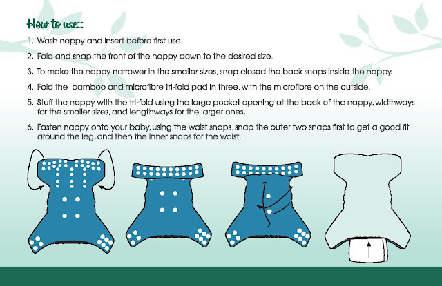 How to use the dinky nappy