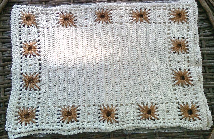 MIS TEJIDOS Y OTRAS HIERBAS: Individuales a crochet