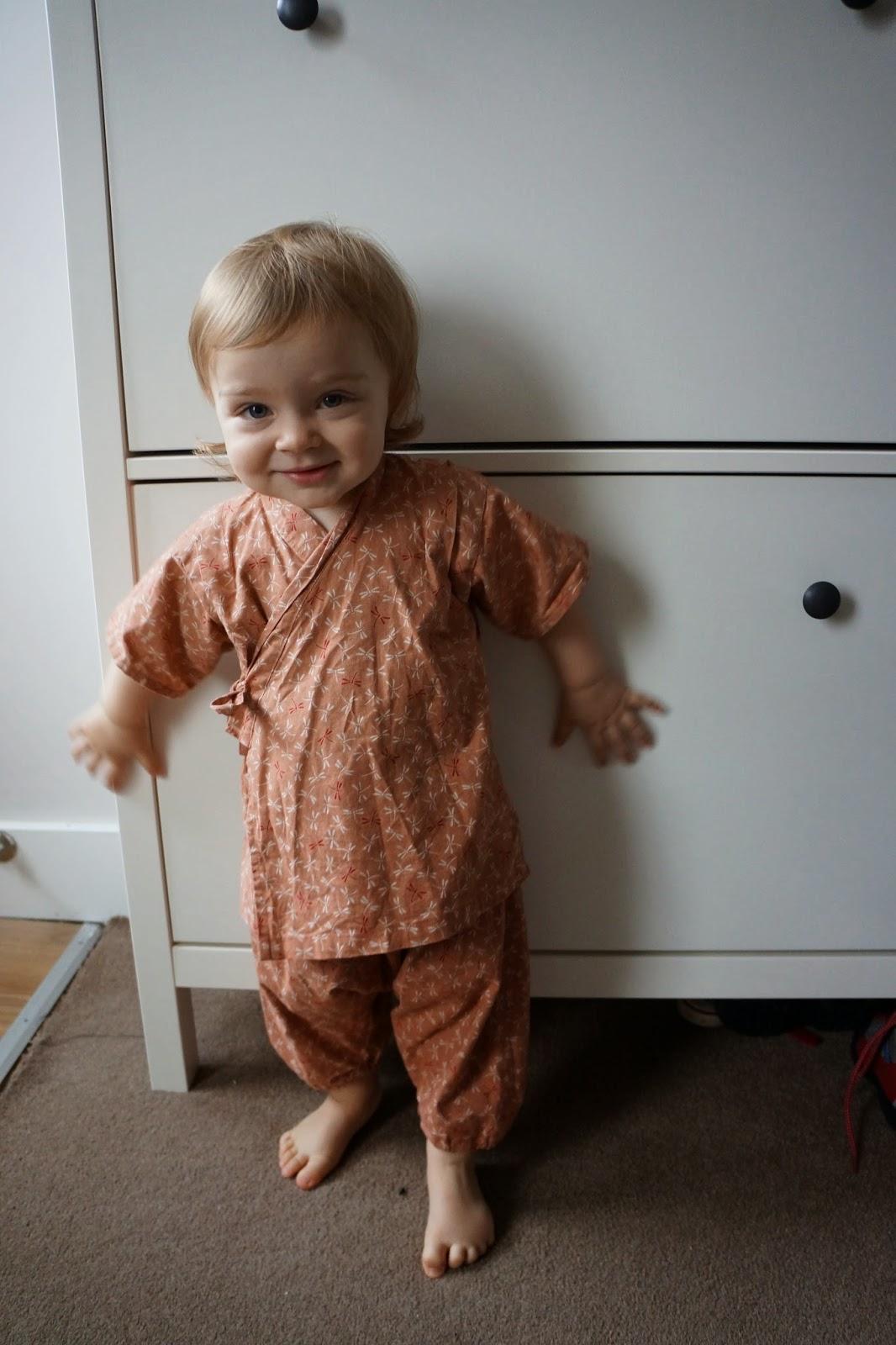 baby toddler kimono yukata