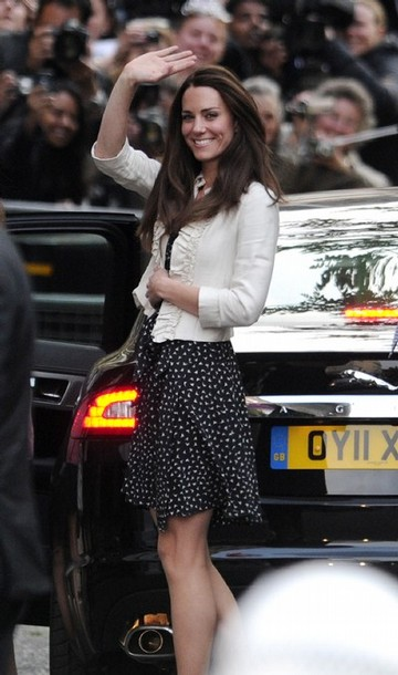 royal wedding prince william to marry kate middleton. Kate Middleton arrives at the