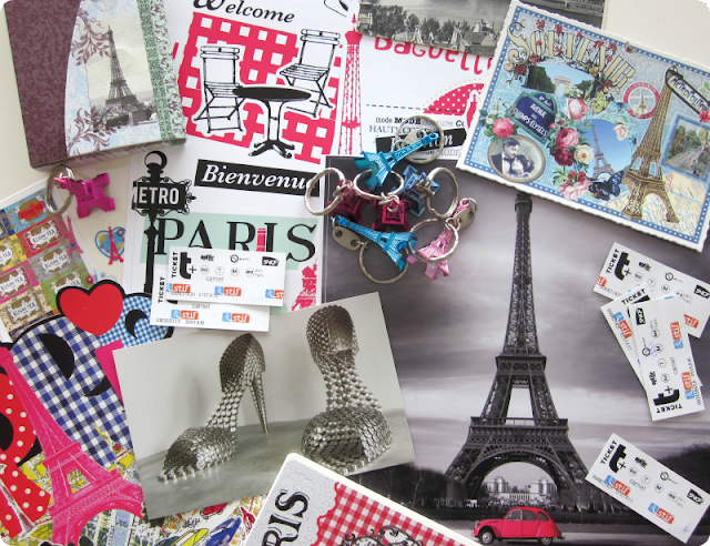 Scrapbooking en París