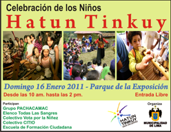 Hatun Tinkuy, Encuentro con los Niños de Lima