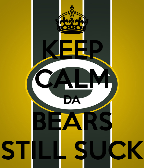 Packers still suck