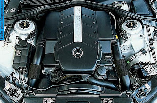 Mercedes s500 engine - صور محرك مرسيدس s500