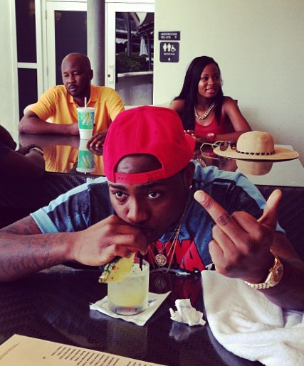Lol-Davido has a message for Y'all