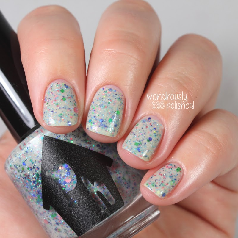 Clumpy Nail Polish: Wondrously Polished: Polishaus