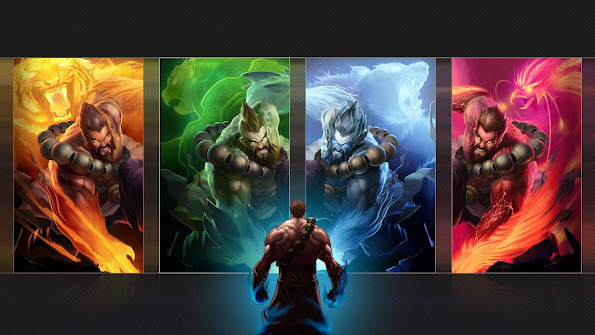 udyr spirit guard skin splash league of legends hd wallpaper lol