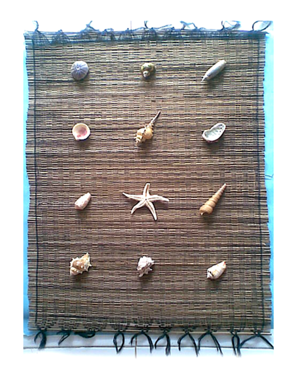 niko kristyanto: dijual kerajinan tangan dari kerang