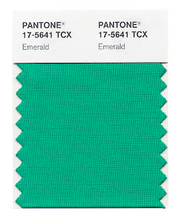 Color of the Year 2013 17-5641 TCX Emerald