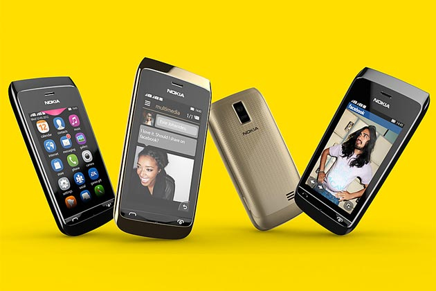 Nokia Asha 308 and 309 mobile phones
