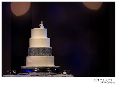 Diamond Wedding Cake l Theilen Photo l Atlantis Reno l Take the Cake Event Planning