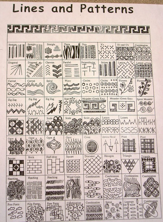 Creating Line Designs : Enrhedando manualidades