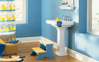 kamar+mandi+anak+kecil+minimalis Desain kamar mandi kecil cantik untuk anak anak