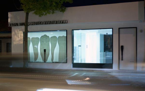 Dise o de fachadas espai interiorismo - Planos de clinicas dentales ...