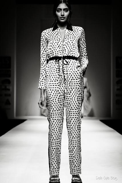 Jenjum Gadi Spring Summer 2013 WIFW FDCI Insect print fashion