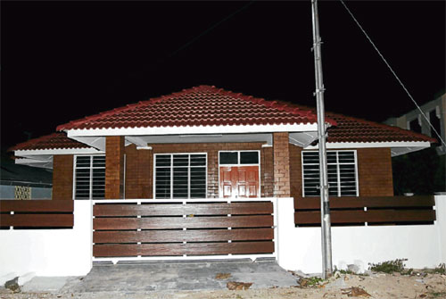 Gambar Rumah Banglo Khairul Fahmi
